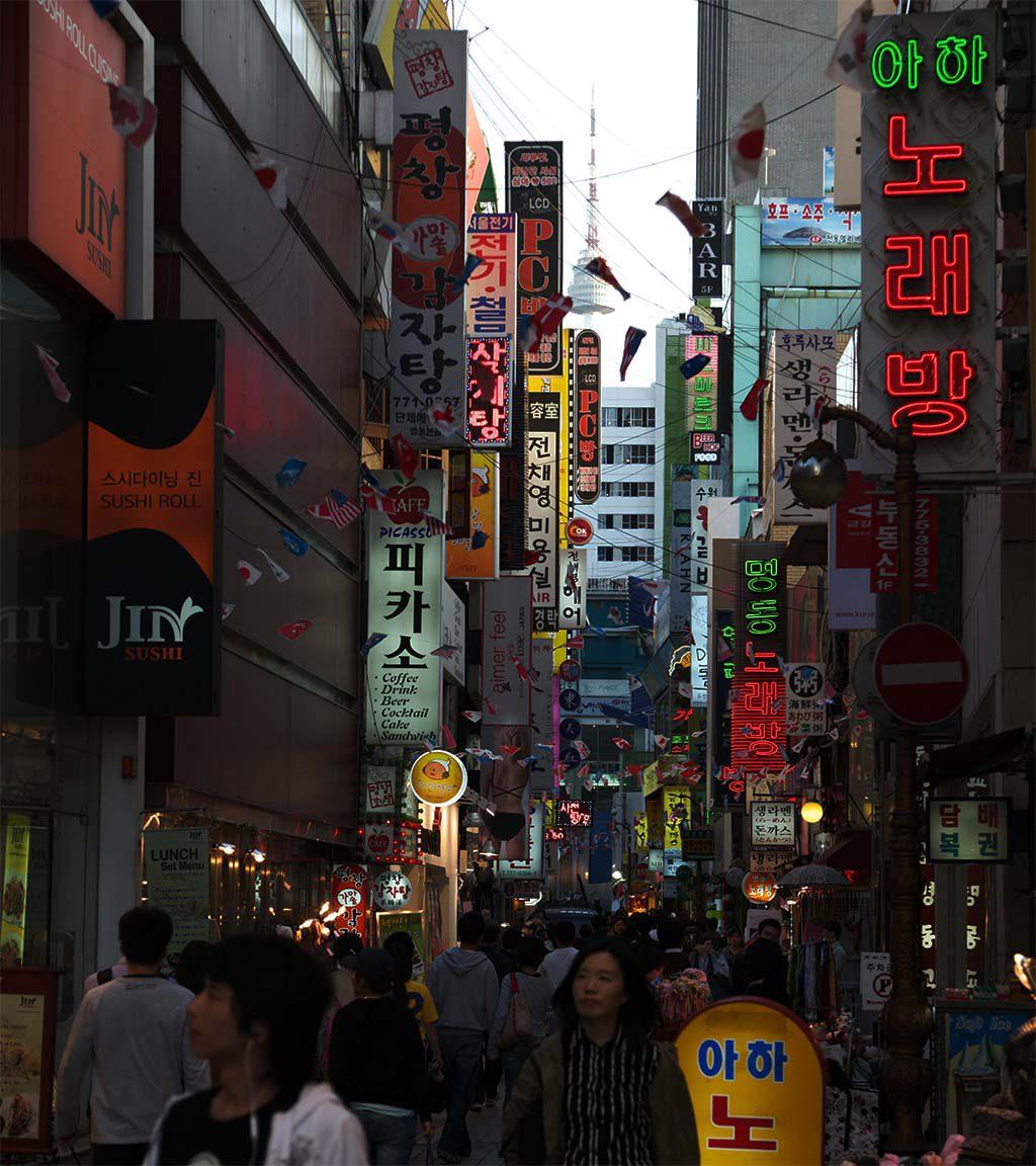 愛知の探偵が韓国で浮気調査
