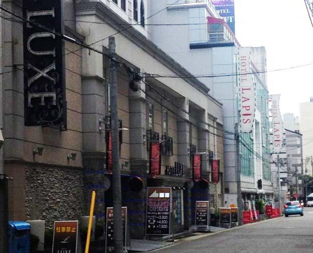探偵が名古屋市内のラブホテルで浮気調査