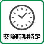 別居後の浮気調査・交際時期特定調査
